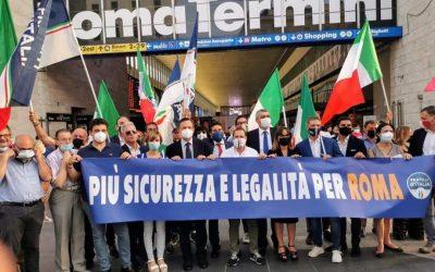 Roma: al bando criminalità e degrado, la sicurezza è un bene di tutti